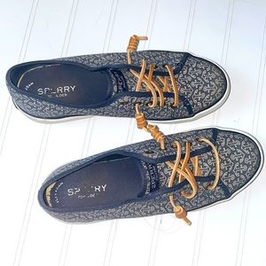 Sperry Boat Shoes with Anchors